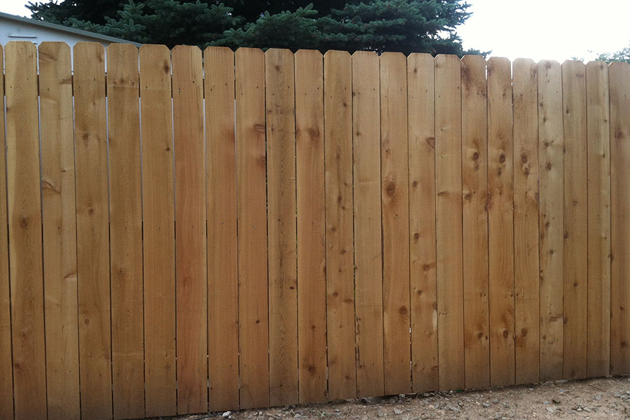 6' Picket Fence 1