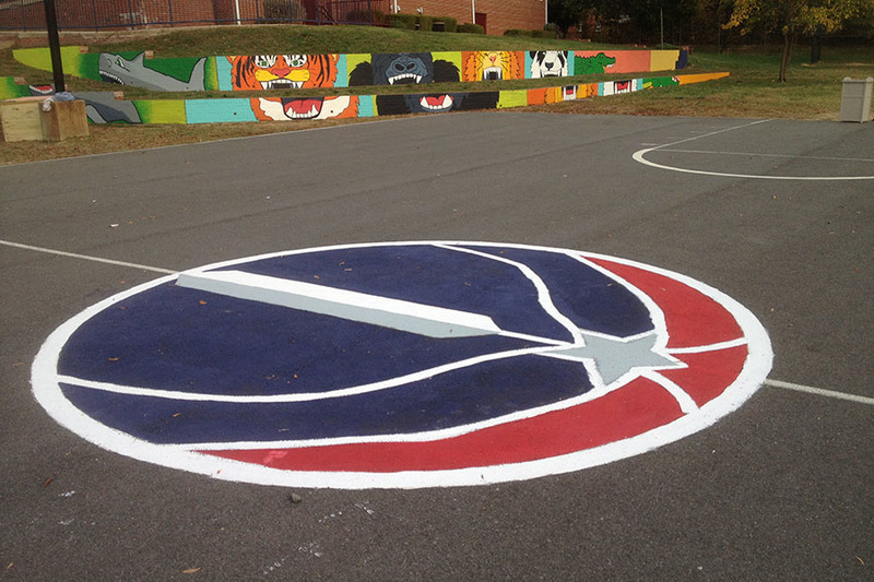 How to paint a basketball court | KaBOOM!