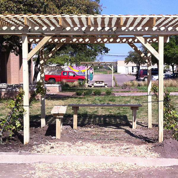 How To Build a Shade Structure