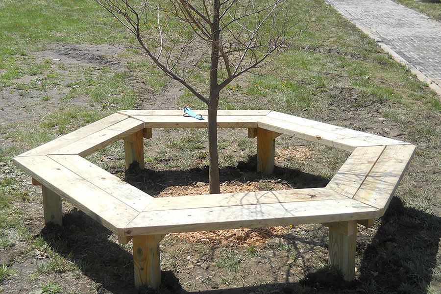 Lovely Building A Bench Around A Tree Part - 6: Tree Bench 2