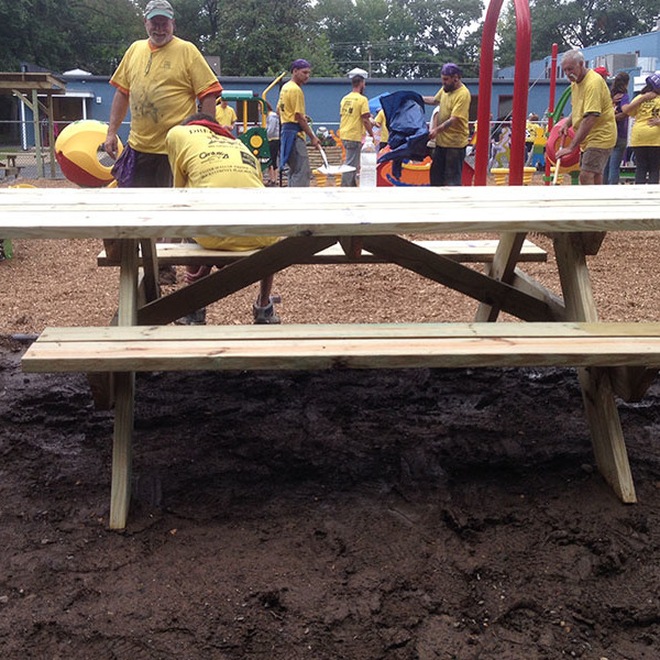 How to Build an ADA Picnic Table