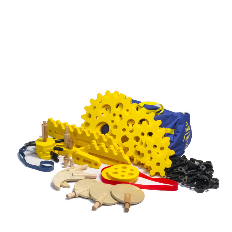 Rigamajig Simple machines Add-On Kit