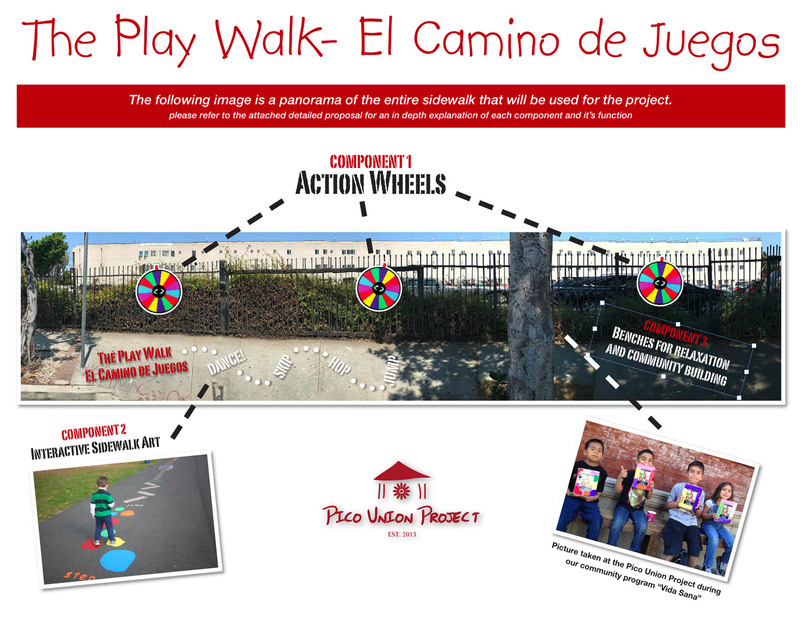 Pico Union Project The Play Walk concept