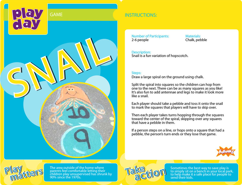Snail Information Card