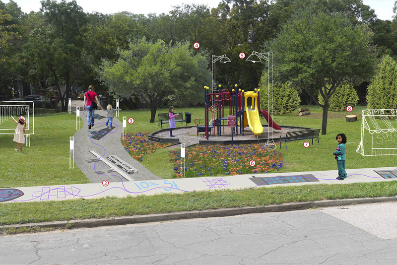 Tenth Street Historical District Oasis for Play