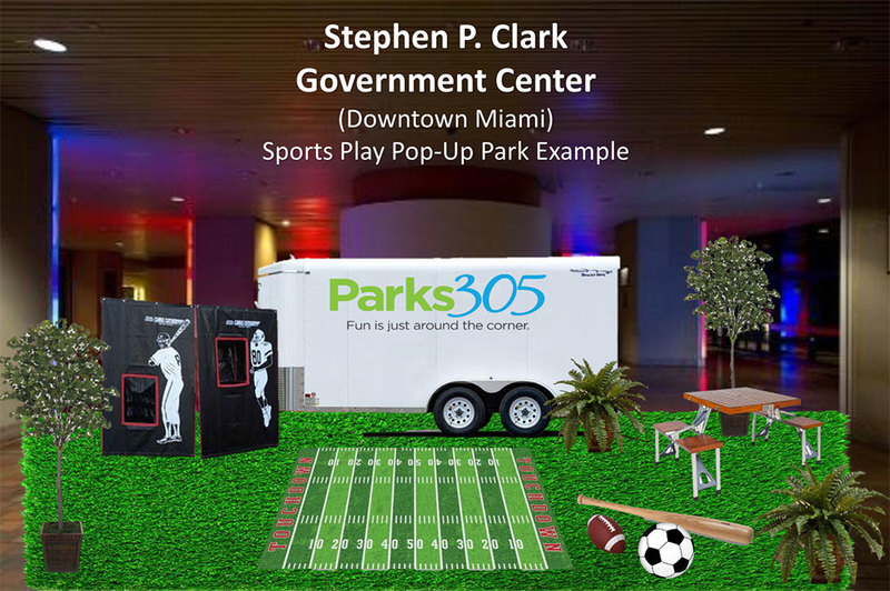 Parks 305 Pop Up Park and Play Station