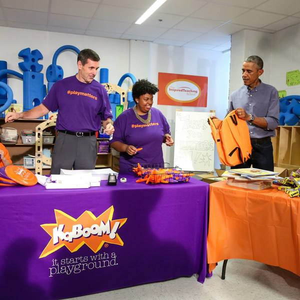 Day of Service 2014 with President and First Lady Obama 9